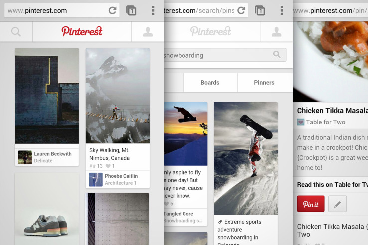 pinterest-mobile-website